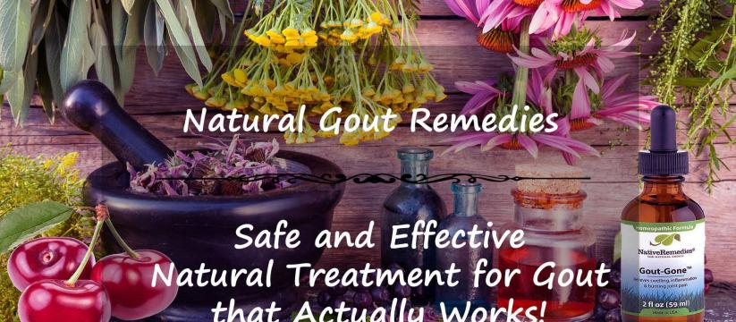 How to Treat Gout Naturally